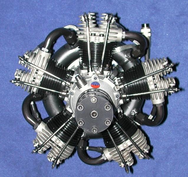 Moki 180cc Benzin Stern motor 5 Cylinder