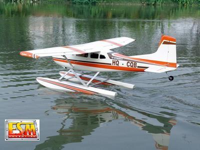 ESM CESSNA 185 skywagon wingspan:2200 mm