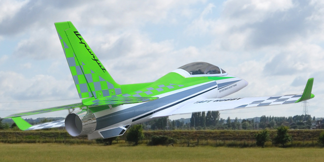 Home page :: RC Aircraft :: Electric Jet Planes :: Foam-Epp-Epo Ducted Fan  Jets :: Viper Jet Large Electric Ducted Fan Plane PNP Green