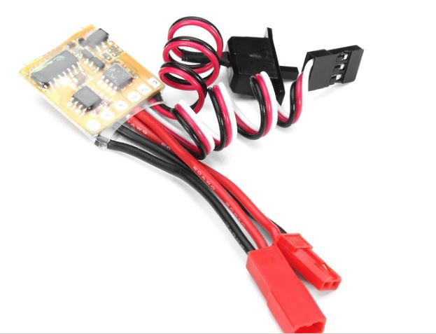 10A ESC Brushed Speed Controller For RC Car And Boat Without
