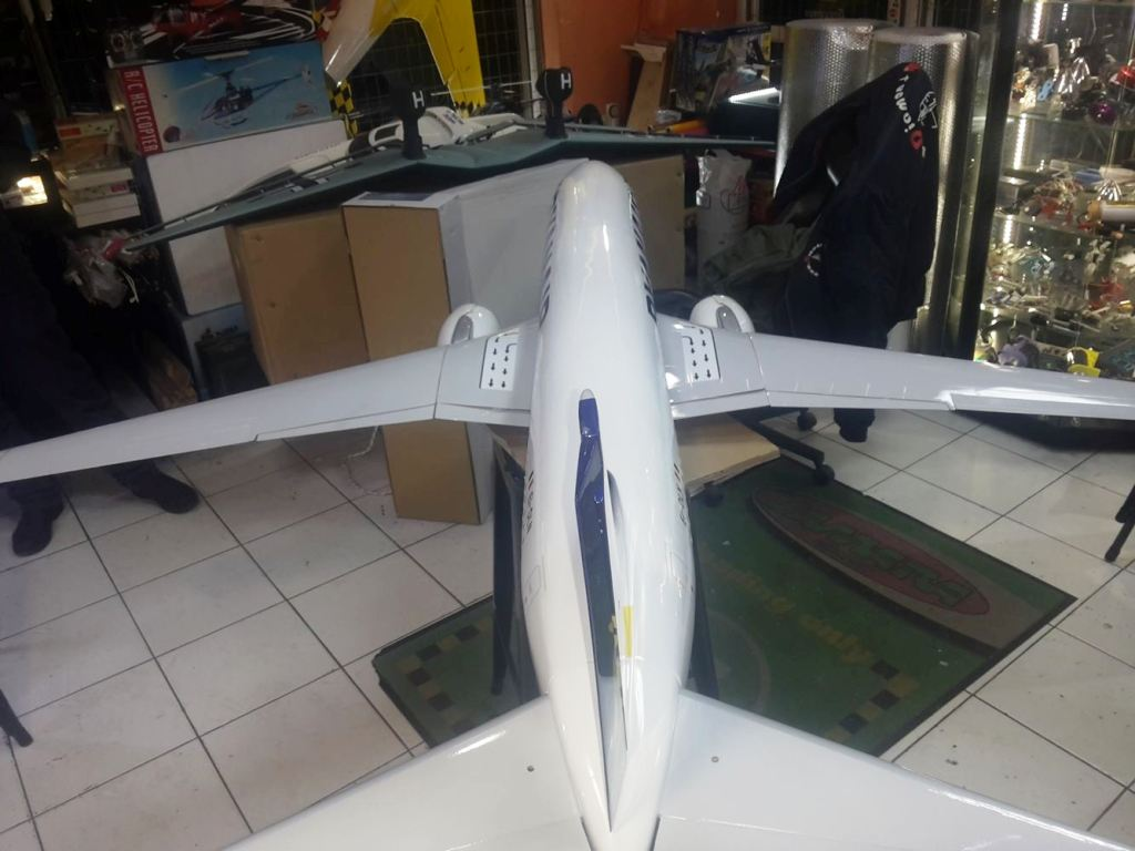 Rc Aircraft Scale Planes Full Composite Boeing 737