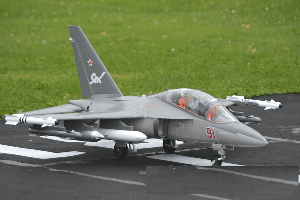Yak-130 Super Scale Ultra Performance 8S 90mm EDF Jet - PNP